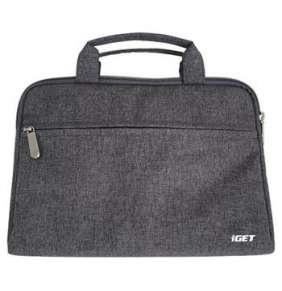 iGET iB10 TABLET BAG - Pouzdro na tablet 10,1 s poutky a uzávěrem na zip