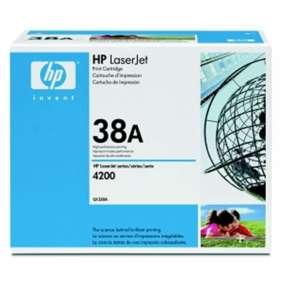 HP 38A, Black toner pre HP LaserJet 4200, 12000 strán