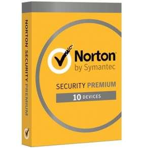 NORTON SECURITY PREMIUM CZ  1 uživatel na 10 zařízení na 3 roky