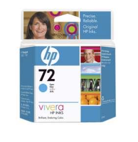 HP no 72 - azurová ink. kazeta, C9398A