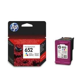 HP (652) F6V24AE - ink. náplň barevná pro HP DeskJet Ink Advantage 1115, 2135, 3635, 3835, 4535, 4675 / cca. 200 stran