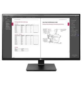 "LG monitor 27BN650Q / IPS 27"" / 2560x1440 / 350cd/ 5ms / 2xHDMI / DP / pivot"