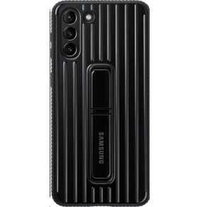 Samsung kryt se stojánkem EF-RG996CBE pro Galaxy S21+, černá