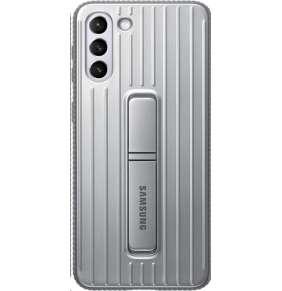Samsung kryt se stojánkem EF-RG996CJE pro Galaxy S21+, šedá