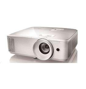 Optoma projektor EH412ST  (DLP, 1080p, Full 3D, 4000 ANSI, 22 000:1, VGA, HDMI, MHL, RS232,  Audio, 1x10W speaker)