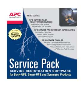 APC 1 Year Service Pack Extended Warranty (for New product purchases), SP-01A , pro BE400, BE650G2, BE850G2