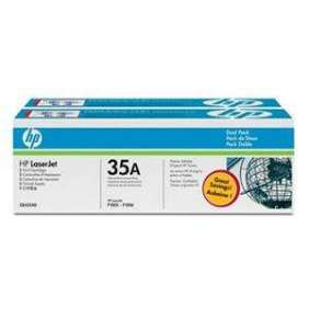 HP 35AD, Black toner pre, HP LaserJet P1005, P1006, 2x1500 strán / dual pack