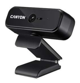 Canyon CNE-HWC2 webkamera, HD 720p, USB , CMOS 1/4´´, mikrofón, 360° rozsah