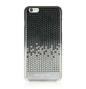 Swarovski kryt Vogue Cascade pre iPhone 6 Plus/6s Plus - Brilliant Onyx