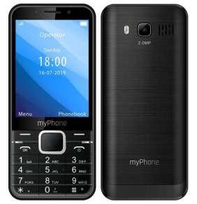 """myPhone Up - černý   3,2""""/ 240x320/ Dual SIM/ FM rádio/ micro SD"""