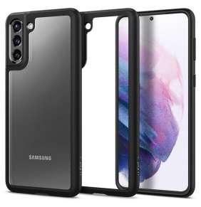 Ochranný kryt Spigen Ultra Hybrid pro Samsung Galaxy S21 černý