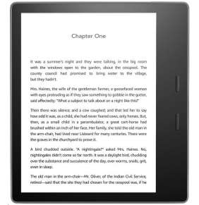 "Amazon Kindle Oasis 7"" 32GB, WiFi (300 ppi) - BLACK"