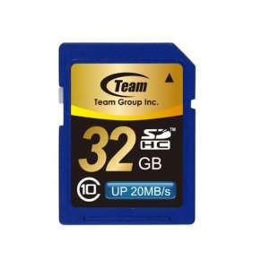 TEAM 32GB Secure Digital SDHC/ Class 10