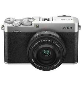 Fujifilm X-E4 - 26,1Mpx - Black/Silver