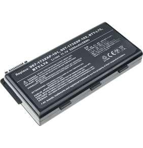 Baterie T6 power MSI CX500, CX600, CX610, CX620, CX630, CX720, CR610, CR620, GE700, 6cell, 5200mAh