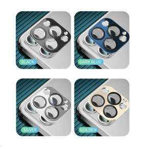 COTEetCI sklo na fotoaparát pro Apple iPhone 12 Pro 6.1'' stříbrné