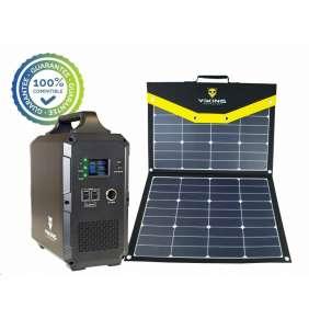 Viking bateriový generátor TITAN 2000 + solární panel L110