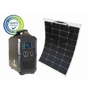 Viking bateriový generátor TITAN 2000 + solární panel LE100