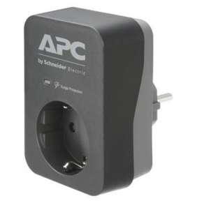 APC Essential SurgeArrest, 1 Ausgang, schwarz, 230 V, Deutschland