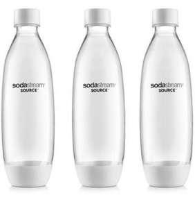 SodaStream Lahev FUSE 3Pack 1l bílá