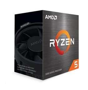 AMD cpu Ryzen 5 5600X AM4 Box (6core, 12x vlákno, 3.7GHz / 4.6GHz, 32MB cache, 65W), s chladičem Wraith Stealth
