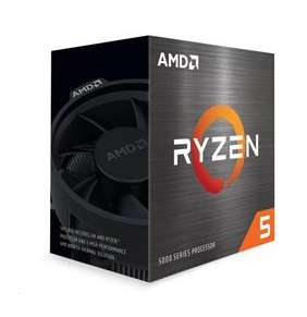AMD Ryzen 5 5600X (3,7GHz / 32MB / 65W / no VGA / SocAM4) Box, Chladic
