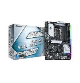 ASRock MB Sc LGA1200 B560 STEEL LEGEND, Intel B560, 4xDDR4, 1xDP, 1xHDMI
