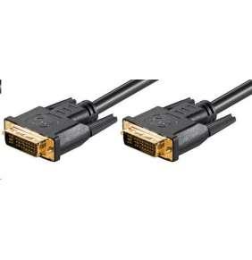 PremiumCord DVI-I propojovací kabel,dual-link,DVI(24+5),MM, 2m