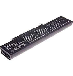 Baterie T6 power Fujitsu Esprimo Mobile V5535, V5555, V6515, V6555, Li1703, 5200mAh, 58Wh, 6cell