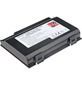 Baterie T6 power Fujitsu Lifebook E8410, E8420, A6210, A6220, AH550, E780, N7010, 8cell, 5200mAh