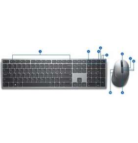 DELL KM7321W bezdrátová klávesnice a myš CZ/ SK/ česká / slovenská