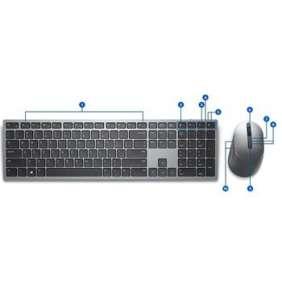 Dell Premier Multi-Device bezdrátová klávesnice a myš - KM7321W - CZ/SK