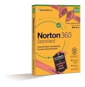 SPECIAL - NORTON 360 STANDARD 10GB + VPN 1+1 uživatel pro 1 zařízení na 1rok BOX