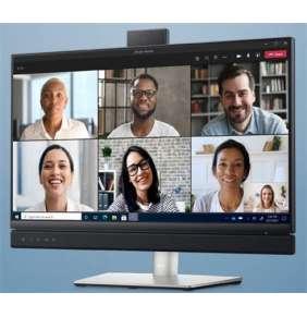 """DELL Video Conferencing Monitor C2422HE 23.8"""" LED/1920x1080 Full HD/1000:1/8ms/HDMI/DP/USB-C/RJ45/CAM/repro/čierna"""