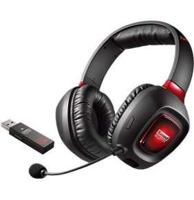 Creative Sound Blaster Tactic 3D Rage wireless V2, hráčsky headset s USB vysielačom