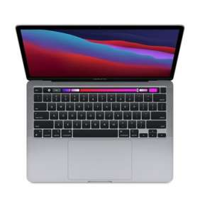 Apple 13-inch MacBook Pro: Apple M1 chip with 8-core CPU and 8-core GPU, 16GB RAM, 1TB SSD - Space Grey  - ENG CTO