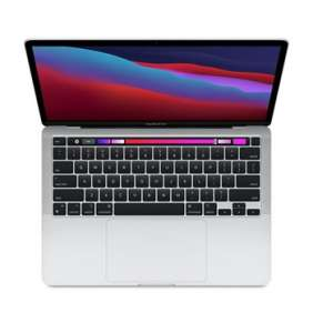 Apple 13-inch MacBook Pro: Apple M1 chip with 8-core CPU and 8-core GPU, 16GB RAM, 2TB SSD - Silver  - ENG CTO