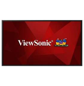 "ViewSonic Flat Display CDE5520 W-E/ 55""/ 24/7 LCD /3840x2160/ 8ms/ 400cd/ HDMI x 2 /DVI /USB A x 2 /RJ45 /RS232 /repro /"