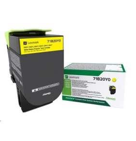 Lexmark C332HM0 Purpurová vysokokapacitní tisková kazeta z vratného programu, 2 500 str