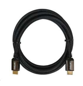 EVOLVEO XXtremeCord, kabel HDMI 2.1, 1m, podpora 8K ULTRA HD, 4K, 2K a FHD, 48Gbps