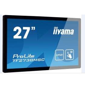 Iiyama dotykový monitor ProLite TF2738MSC-B2, 68,6 cm (27''), Projected Capacitive, 10 TP, Full HD, black