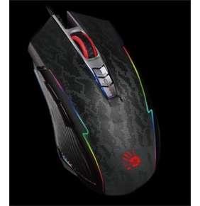 A4tech BLOODY P93S, herní myš, RGB podsvícení, ANIMATION GAMING, 8000DPI, USB, Snake , Core 3