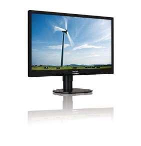 """Philips LCD 241S4LCB 24""""wide/1920x1080/5ms/20mil.:1/DVI/LED/pivot, černý"""