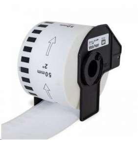 PRINTLINE kompatibilní etikety s Brother DK-22212, bílá filmová role, 62mm x 15, 24m