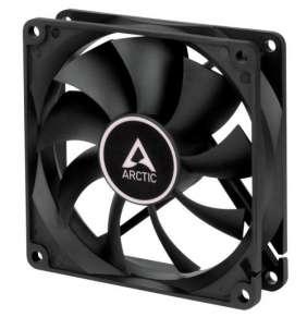 ARCTIC F8 Silent black ventilátor 80mm / tichý / černý