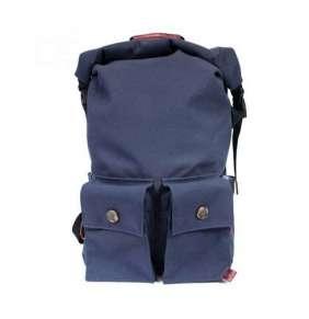 "PKG batoh DRI Rolltop Backpack 15"" - Navy Burgundy"