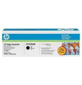 HP CC530AD Toner 304A pro CLJ CM2320, (2x3500str), Black