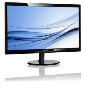 Philips LCD 246V5LSB/00 24'' LED, 5ms, DC10mil, VGA/DVI, 1920x1080, č