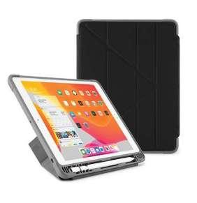 Pipetto puzdro Origami Shield Pencil Case pre iPad 10.2 2019/2020 - Black