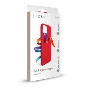 Kryt FIXED Story Samsung Galaxy A52/A52 5G, červený